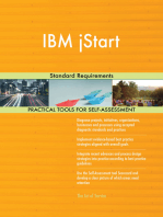IBM jStart Standard Requirements