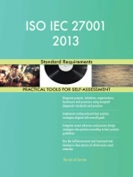 ISO IEC 27001 2013 Standard Requirements