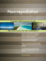 Non-repudiation Complete Self-Assessment Guide