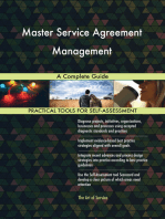 Master Service Agreement Management A Complete Guide