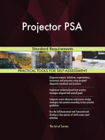 Projector PSA Standard Requirements