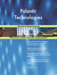 Palantir Technologies Standard Requirements