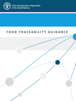 Food Traceability Guidance