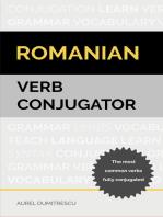 Romanian Verb Conjugator