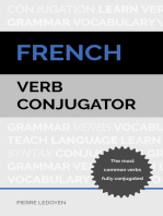 French Verb Conjugator: The Most Common Verbs Fully Conjugated