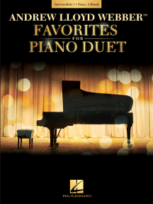 Andrew Lloyd Webber Favorites for Piano Duet: Early Intermediate Level