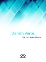 Danish Verbs (100 Conjugated Verbs)