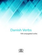 Danish Verbs (100 Conjugated Verbs)
