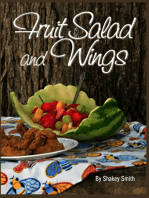 Fruit Salad & Wings