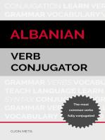 Albanian Verb Conjugator