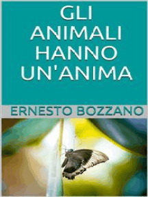 Gli animali hanno un'anima?