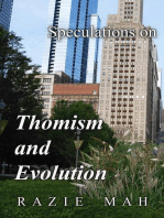 Speculations on Thomism and Evolution