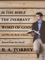 Is the Bible the Innerant Word of God?