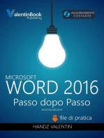 Word 2016 Passo Dopo Passo