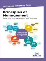 Principles of Management Essentials You Always Wanted To Know
