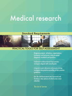 Medical research Standard Requirements