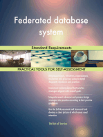 Federated database system Standard Requirements