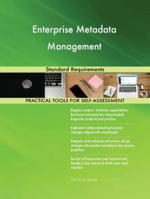 Enterprise Metadata Management Standard Requirements