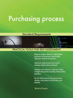Purchasing process Standard Requirements