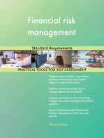 Financial risk management Standard Requirements