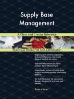 Supply Base Management A Clear and Concise Reference