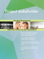Project stakeholder Standard Requirements