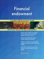 Financial endowment Complete Self-Assessment Guide