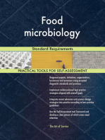 Food microbiology Standard Requirements