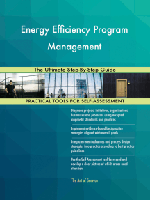 Energy Efficiency Program Management The Ultimate Step-By-Step Guide