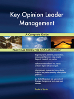 Key Opinion Leader Management A Complete Guide