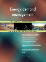 Energy demand management A Clear and Concise Reference