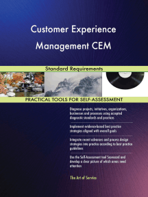 Customer Experience Management CEM Standard Requirements