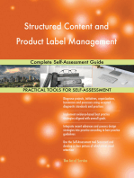 Structured Content and Product Label Management Complete Self-Assessment Guide