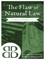 The Flaw of Natural Law