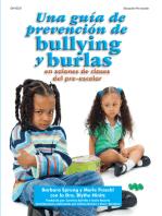 Una guía de prevención de bullying y burlas: en salones de clases de pre-escolar