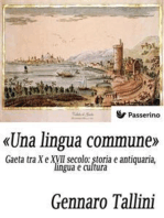 «Una lingua commune»