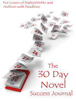 The 30 Day Novel Success Journal