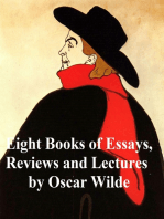 Eight Books of Essays, Reviews, and Lectures