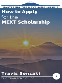 How to Apply for the MEXT Scholarship: Mastering the MEXT Scholarship Application: The TranSenz Guide, #1