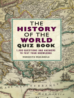 The History of the World Quiz Book: 1,000 Questions and Answers to Test Your Knowledge