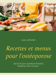 Recettes et menus pour l'ostéoporose