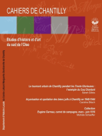 Cahiers de Chantilly n°10