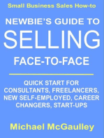 Newbie's Guide to Selling Face-to-Face