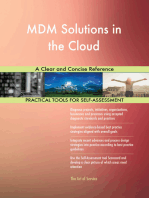 MDM Solutions in the Cloud A Clear and Concise Reference
