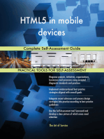 HTML5 in mobile devices Complete Self-Assessment Guide