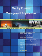 Quality Process Management Applications Standard Requirements