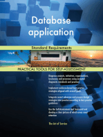 Database application Standard Requirements