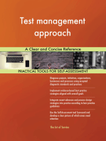 Test management approach A Clear and Concise Reference