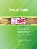 Social login Standard Requirements