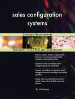 sales configuration systems Standard Requirements